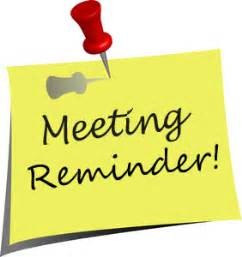 Meeting Reminder