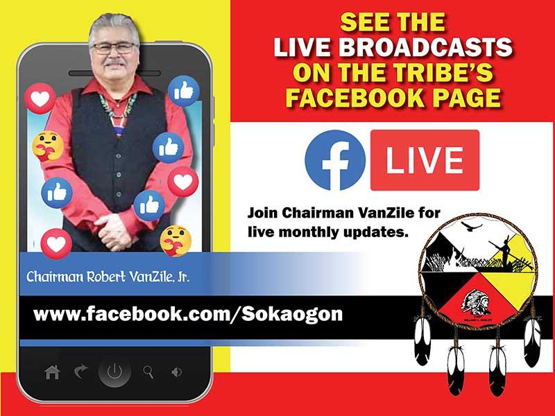 Chairmans Monthly Facebook Live Broadcasts